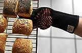 Ess-Nische Grillhandschuhe Hitzebeständig Bis 500 °C - Ofenhandschuhe Für Küche & Grill - Premium Backhandschuhe Extra Lang - 5