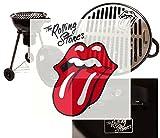 Offizieller Rolling Stones Holzkohle-Kugelgrill -